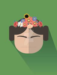 Princess Leia Kahlo