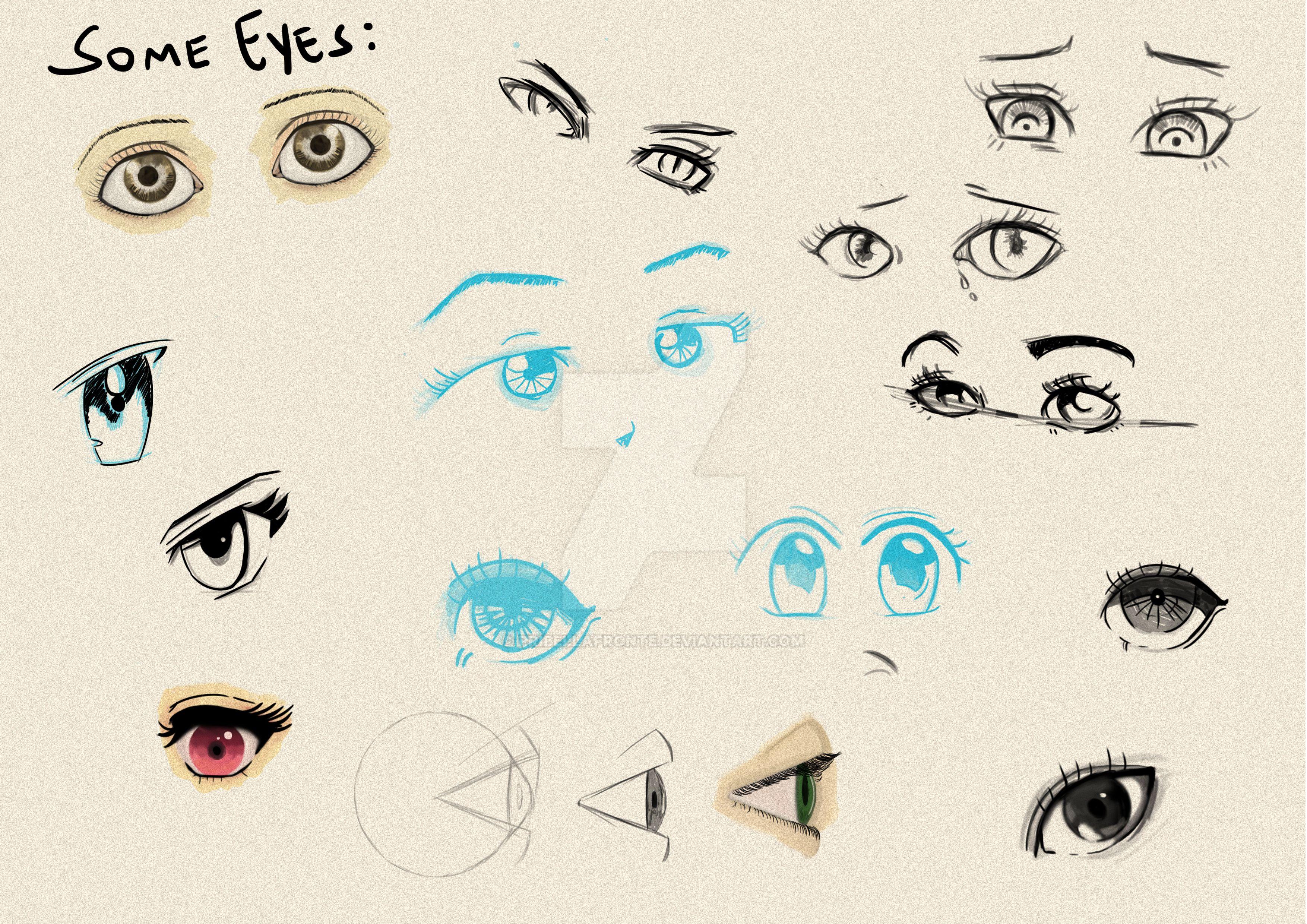 Eyes by pribellafronte