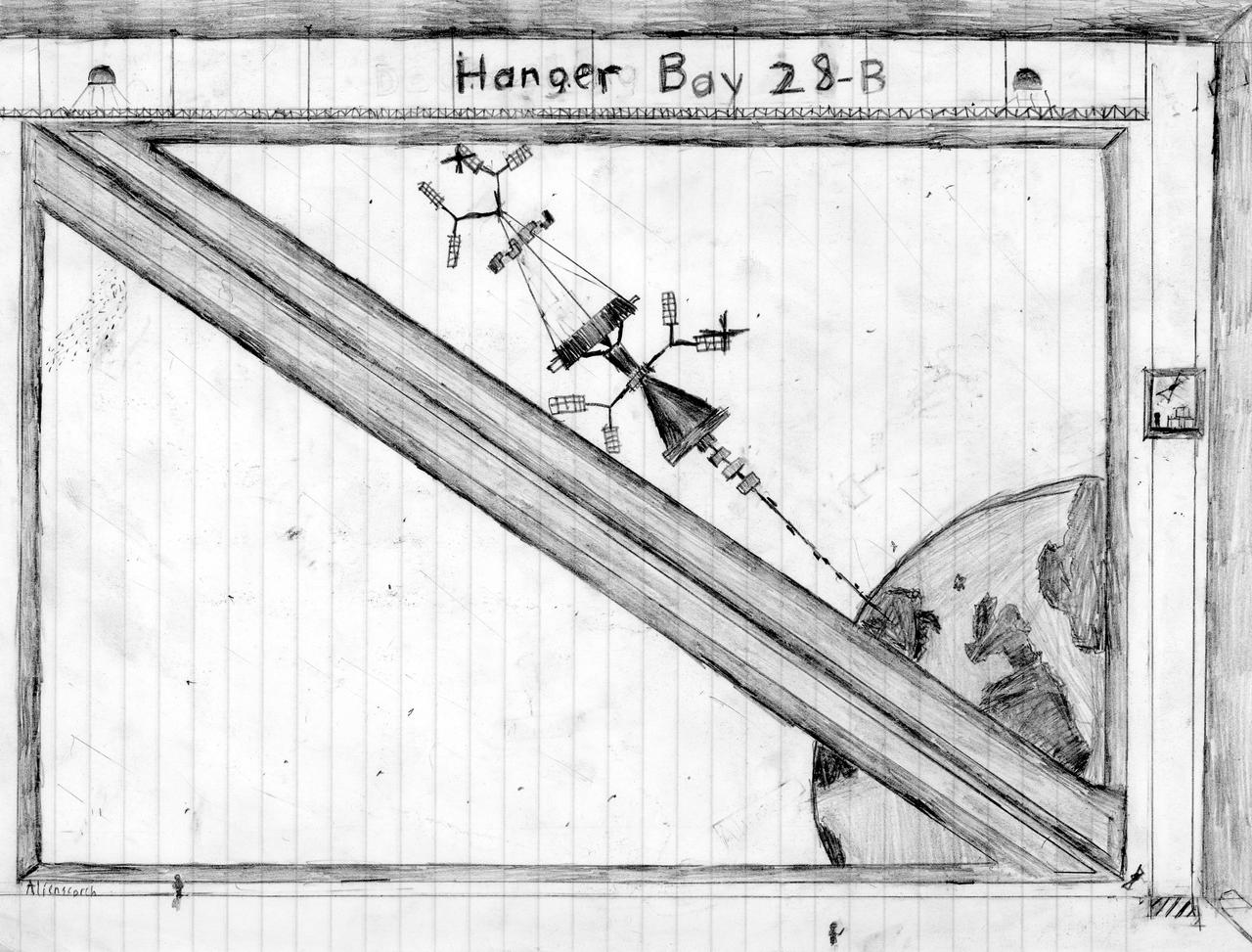 Hangar bay 28-B by alienscorch