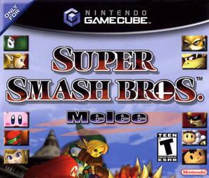 Super Smash Bros. Melee (GCN) Jewel Case Front