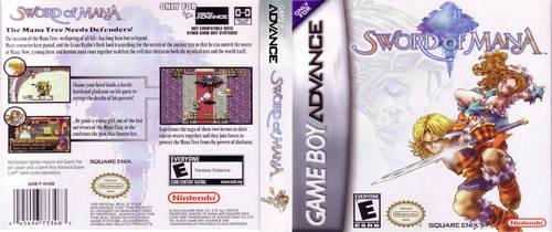 Sword of Mana (GBA) DS Insert