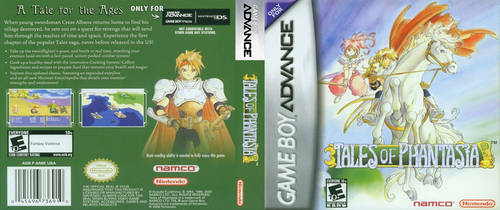 Tales of Phantasia (GBA) DS Cover