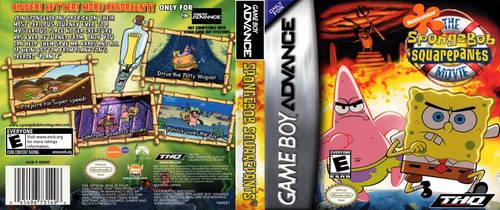 The SpongeBob SquarePants Movie (GBA) DS Cover (Bl