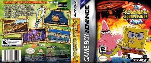 The SpongeBob SquarePants Movie (GBA) DS Cover (Si