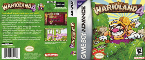 Wario Land 4 (GBA) DS Cover