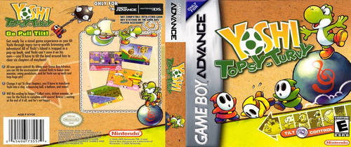 Yoshi Topsy-Turvy (GBA) DS Cover