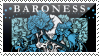 Baroness stamp by sparkpenguin