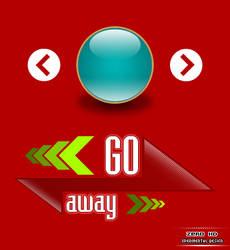 Go Away by zer0-fx