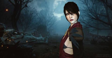 Morrigan - Dragon Age Inquisition Render by Darkslayer092