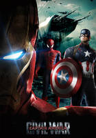 Captain America Civil War #2 by Darkslayer092