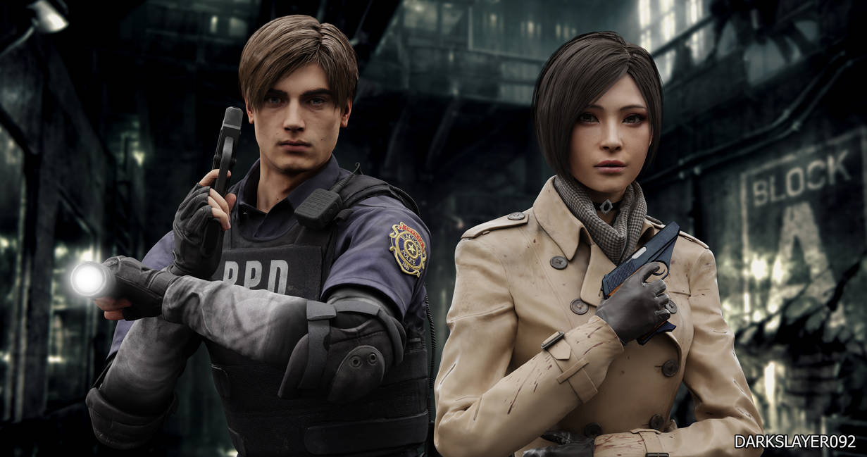 Leon Kennedy And Ada Wong by Darkslayer092