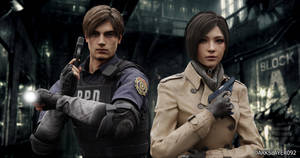 Leon Kennedy And Ada Wong