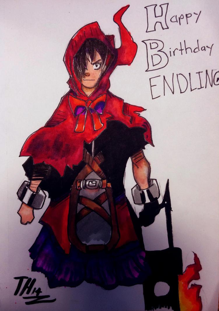 Happy (Early) Birthday Endling by SociallyBallistic