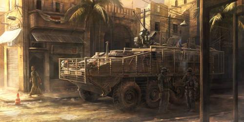 Baghdad by RadoJavor