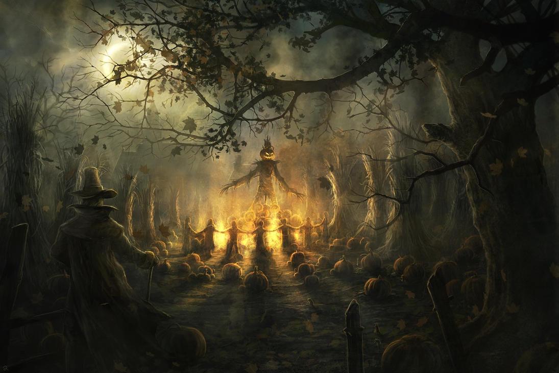 The Pumpkin King by RadoJavor