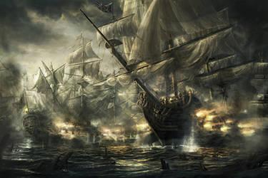 HMS Royal George by RadoJavor