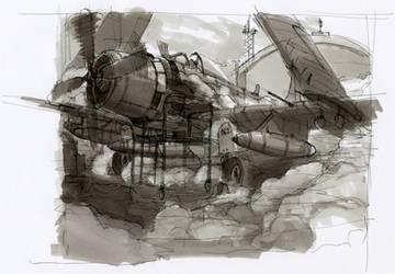 skyraider by RadoJavor