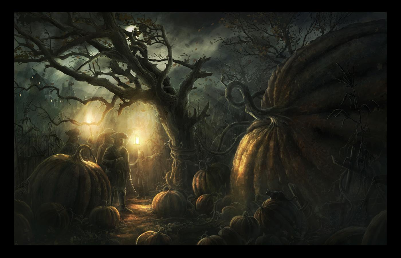Mother Pumpkin by RadoJavor