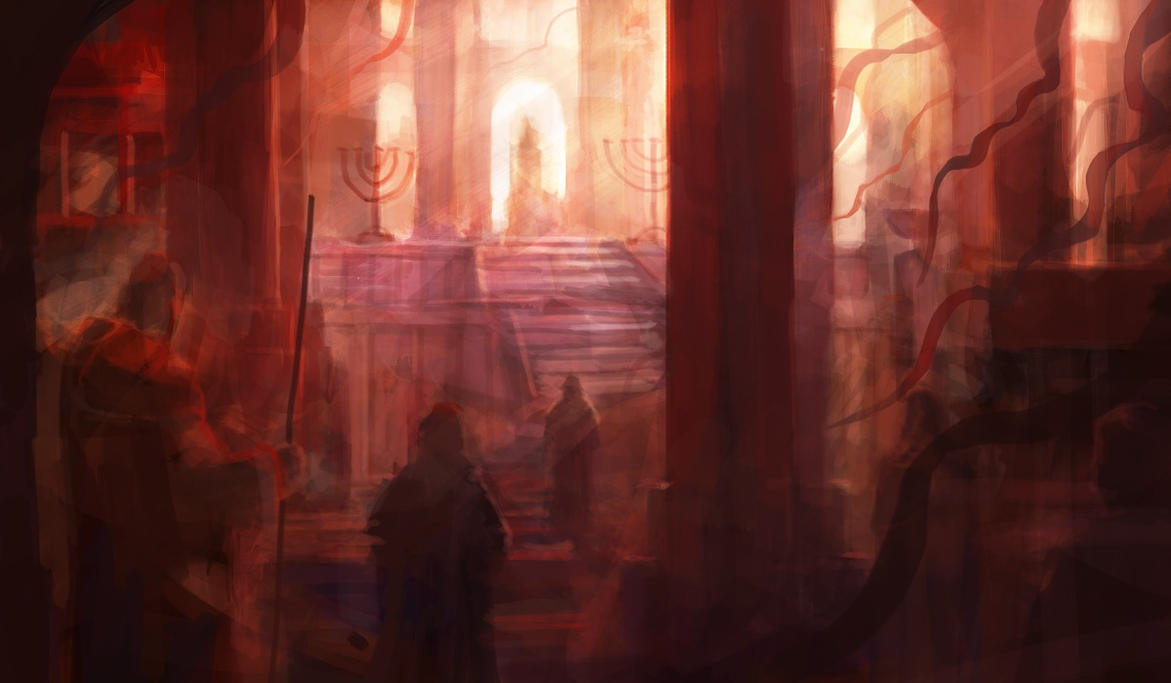 The Temple by RadoJavor