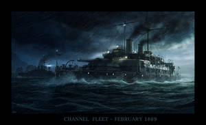 The Channel Fleet by RadoJavor