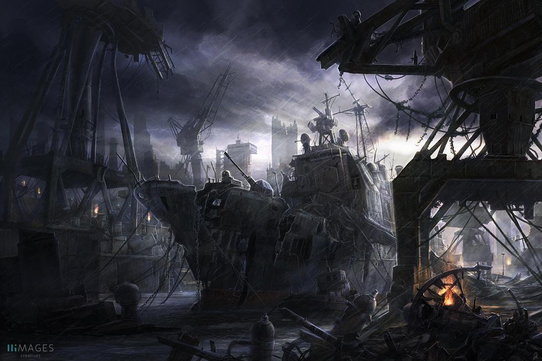 Derelict by RadoJavor