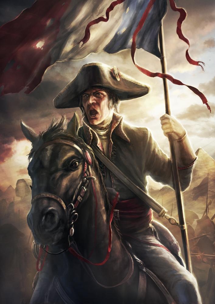 Napoleon by radojavor on deviantart for Napoleon horse painting