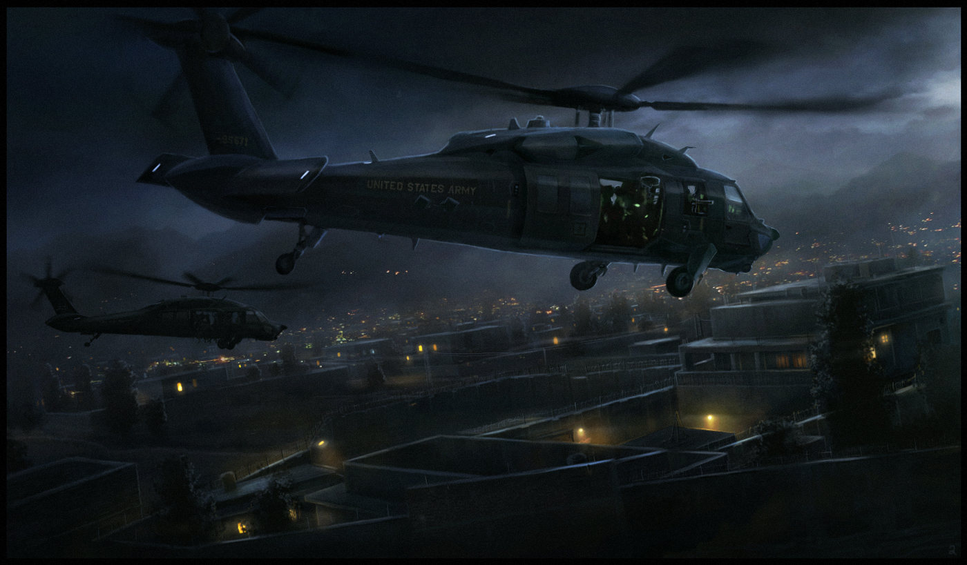 Blackhawk on the Hunt by RadoJavor