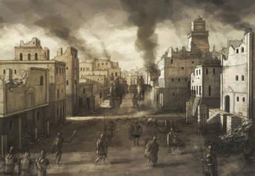 Battle of Carthage I by RadoJavor