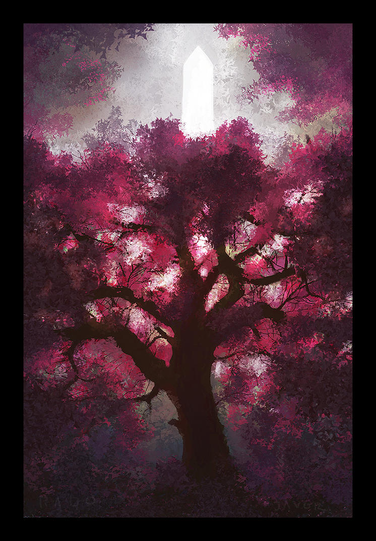 Redbud Tree by RadoJavor