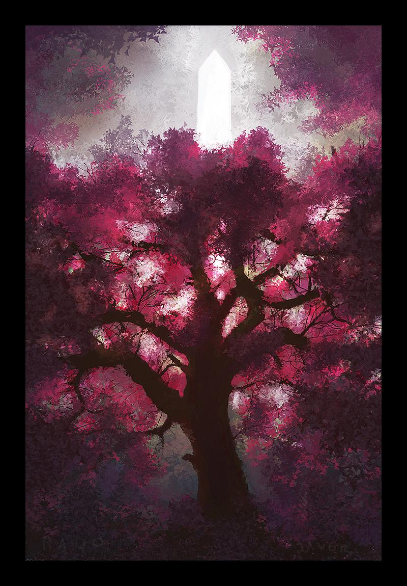 Redbud Tree by RadoJavor