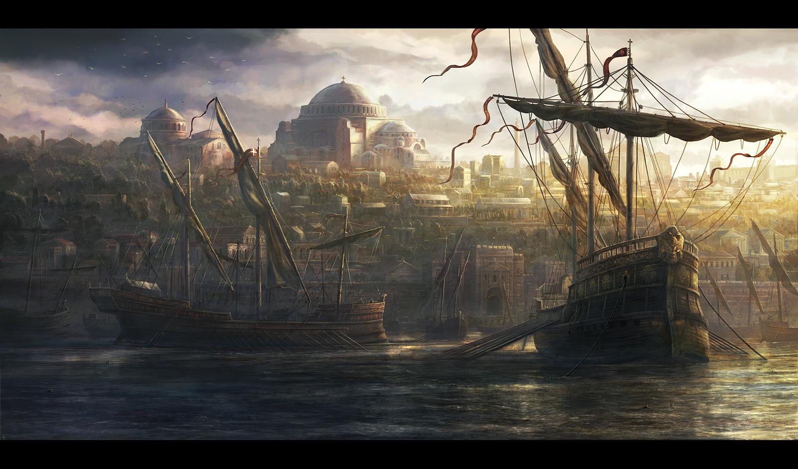 [548] Si les dômes m'étaient contés (ft. Mehry) Constantinople_by_radojavor-d86myr3
