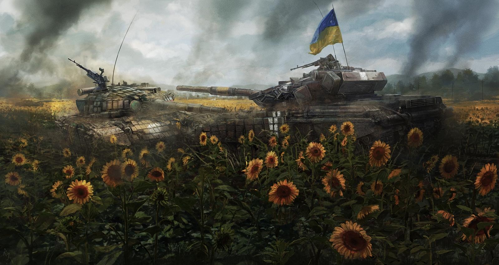 Sunflower fields by RadoJavor