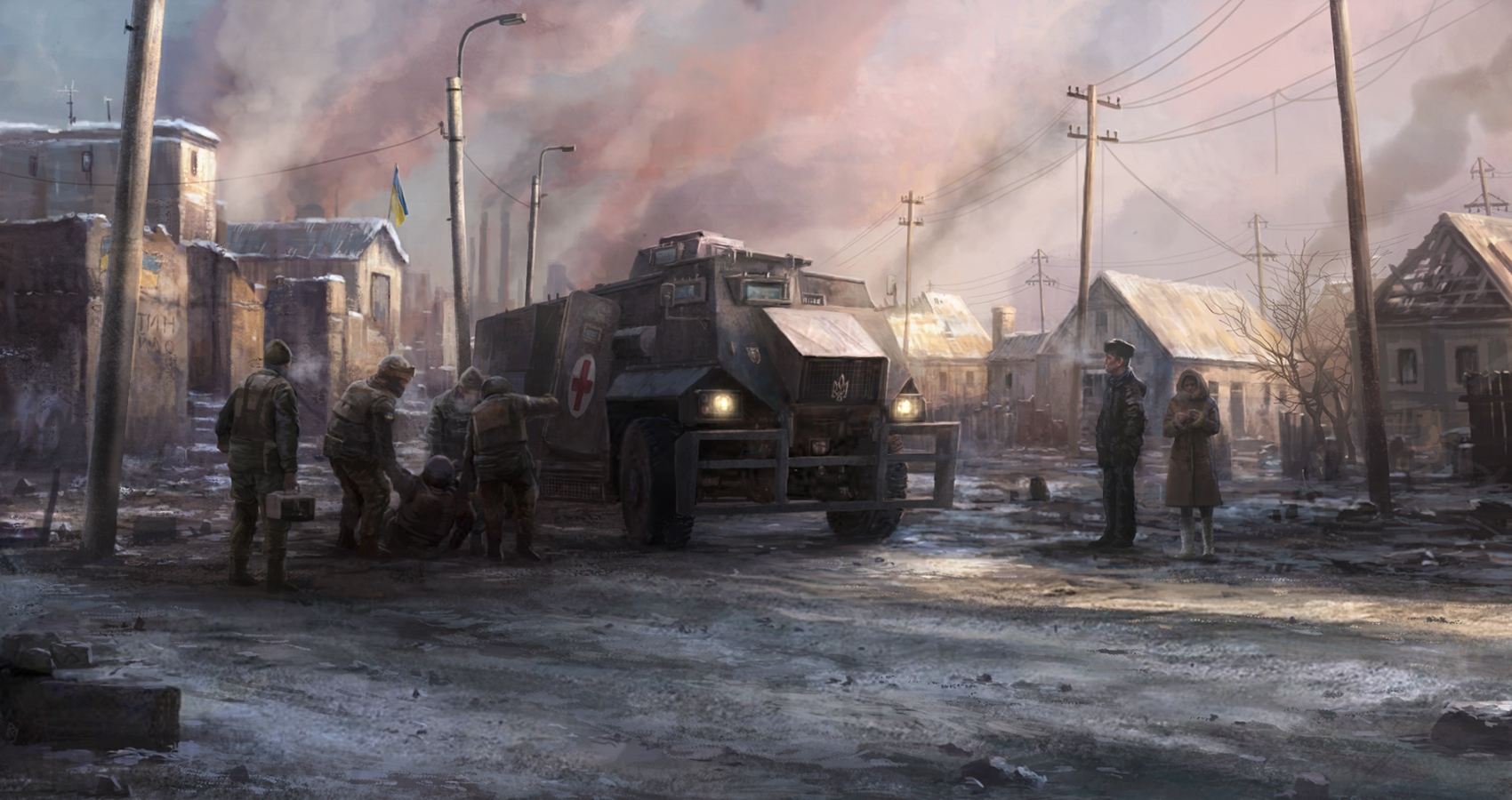 Winter war by RadoJavor