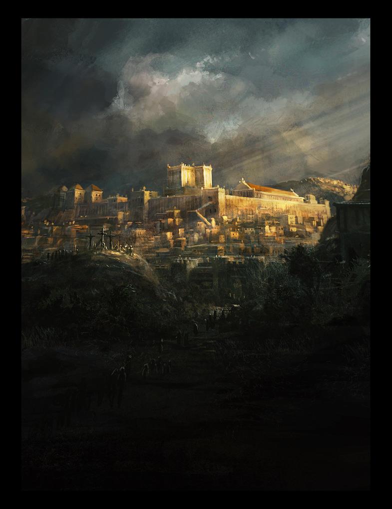 The Temple by RadoJavor