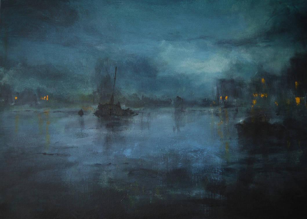 Old Harbour by RadoJavor