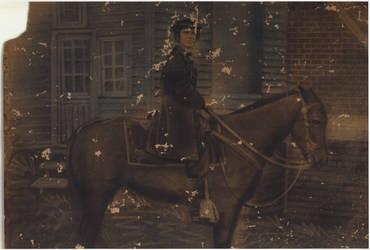 James Dallas On Horse Original by kdeblet