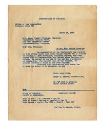 JDRoberts Civil War Letter by kdeblet