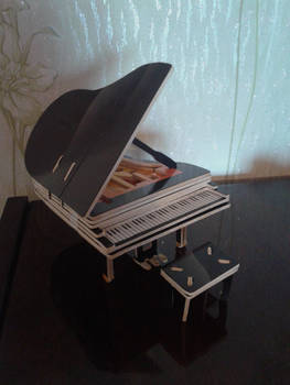 My little grand piano xD