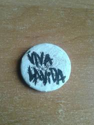 Coldplay Viva la Vida badge