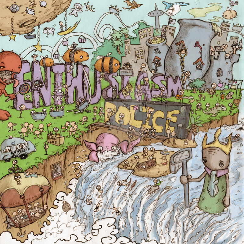 enthusiasm police by therealarien