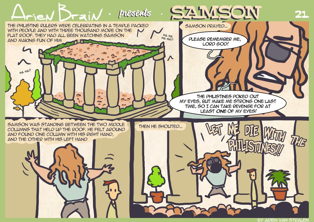 arien brain: samson page21 by therealarien