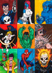Sketch card Samples