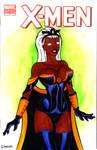 Storm X-Men Cover