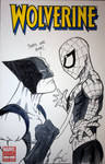 Wolverine Blank Cover Comish