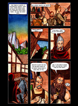 The Beast of Harvik Quarry Page 1