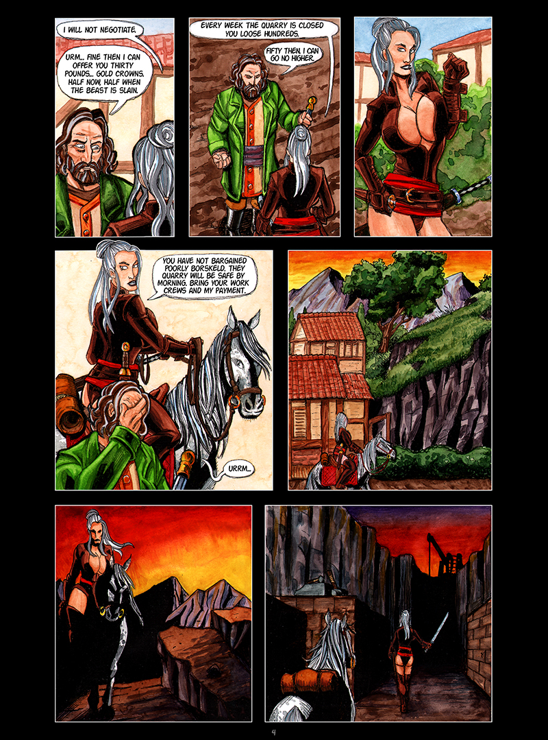 The Beast of Harvik Quarry Page 4