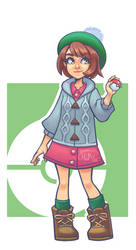 PKMN sword and shield | Trainer girl by NessaTasartir