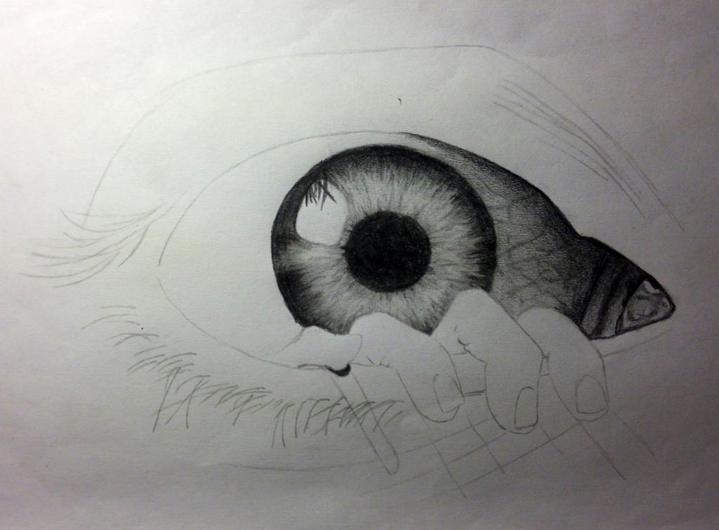 The Eye poster in progress by CrunchMallunch