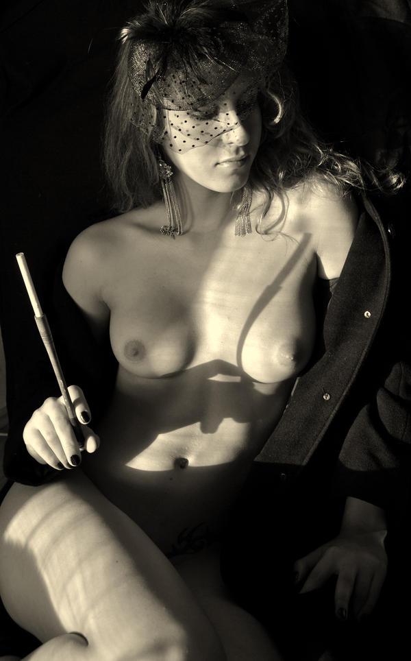 Femme Noir 1 by 0rs