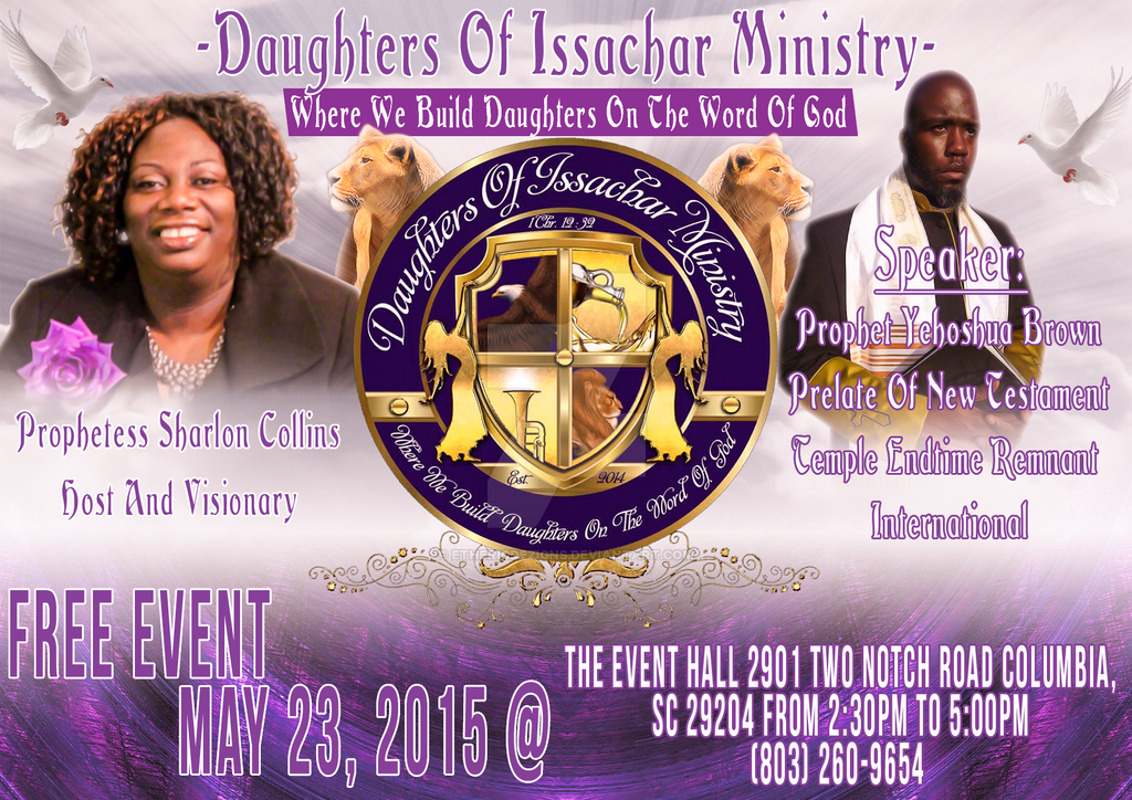 Daughters Of Issachar Ministry by EthericDezigns